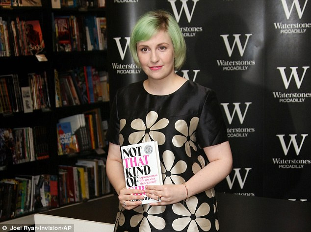 Not his name: Lena Dunham says she changed the name of a man who allegedly raped her, when she described the incident in an essay in her new book Not That Kind of Girl