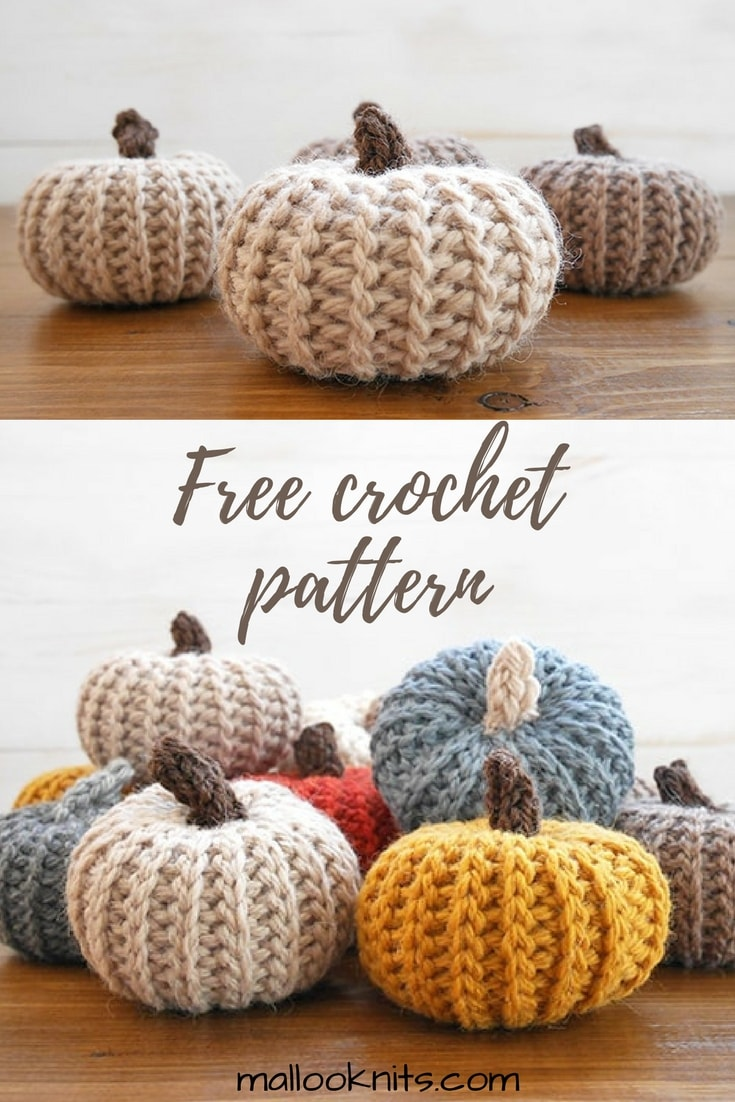 Crochet pattern pumpkins