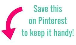 Save on Pinterest to Keep Handy!