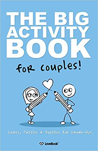 The Big Activity Book For Couples 1st wedding anniversary gift