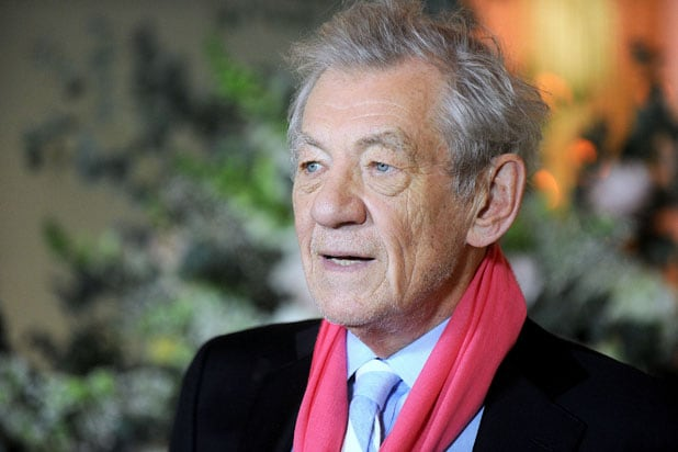 Sir Ian McKellen Beauty and the Beast